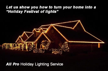 holiday and christmas lighting